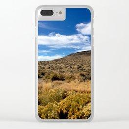 High Desert 1 Clear iPhone Case