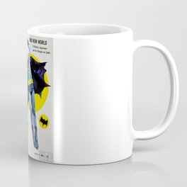 Adam West - Bat Man Life Magazine Cover Coffee Mug