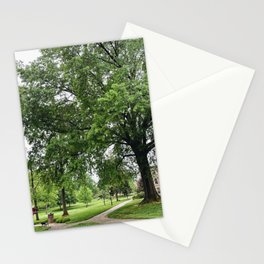 Roanoke College Back Quad in the Spring Stationery Cards
