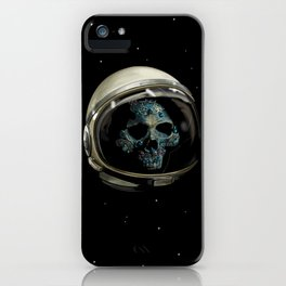 Holy Starman Skull II iPhone Case