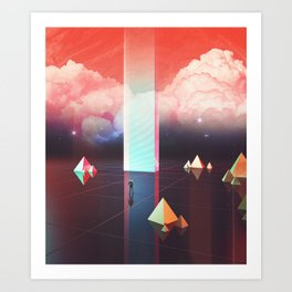 Low cost time travel Art Print