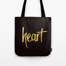 Heart Handwritten Type Tote Bag