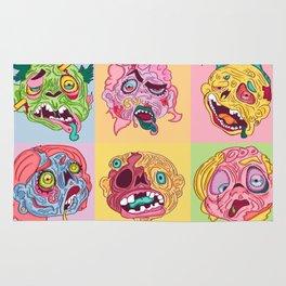 Zombie Heads Rug