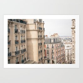 Paris, Montmartre Art Print