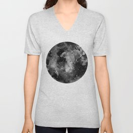 Another moon Unisex V-Neck