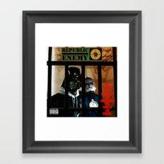 Republic Enemy Framed Art Print