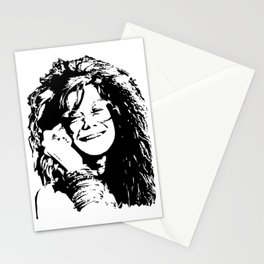 Portrait of Janis Stationery Cards