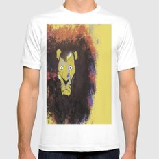 Leo  White MEDIUM Mens Fitted Tee