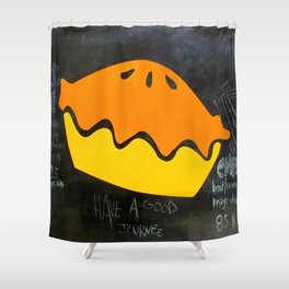 Mobile Menu Shower Curtain