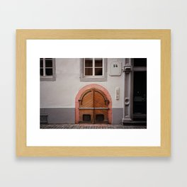 Mainz, Germany Framed Art Print