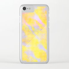 Exotic Paradise Clear iPhone Case