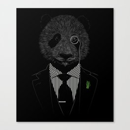 Sir Panda Canvas Print