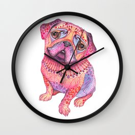Pugberry Wall Clock