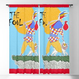 The Fool Tarot Card Blackout Curtain
