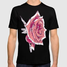 Blossoming rose T-shirt