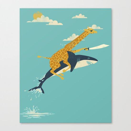 Onward! Canvas Print