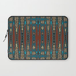 South Western Color Palette Mosaic Pattern Laptop Sleeve