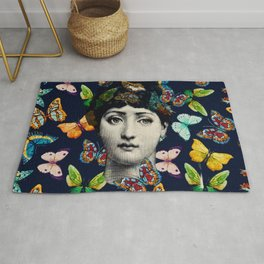 The Butterfly Queen Rug