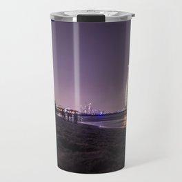 Timelapse Dubai Beach Travel Mug