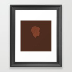 Who Are You? -Boys Don't Cry Framed Art Print