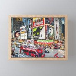 Times Square II Special Edition II Framed Mini Art Print
