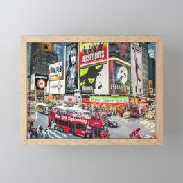 Times Square II Special Edition II Framed Mini Art Print