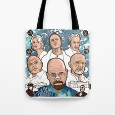 Breaking Bad: The Good, The Bad & The Ugly Tote Bag