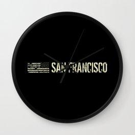 Black Flag: San Francisco Wall Clock