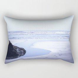 Reality a dreamy beach photo with bokeh Rectangular Pillow