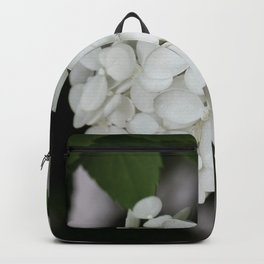 Hydrangea and Old Country Fence Backpack