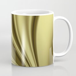 Abstract Fractal Colorways 02 Simple Gold Coffee Mug