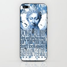 Don't Blink! iPhone & iPod Skin