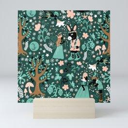 A Midsummer Night's Dream Green Mini Art Print