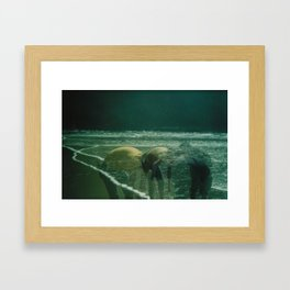 Beach Trip Framed Art Print