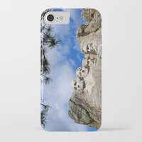 rushmore iPhone & iPod Cases featuring Mount Rushmore by Christiane W. Schulze Art and Photograph