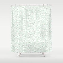 Green Frenzy Shower Curtain