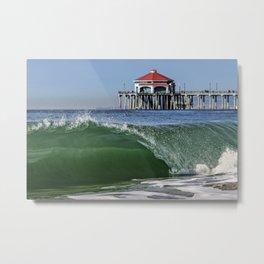 Surf City Shore-break & Ruby's Diner Metal Print