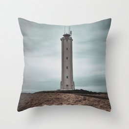 The Malariff Lighthouse Throw Pillow
