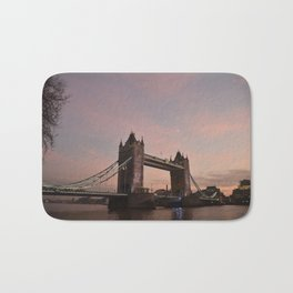 Sunset Tower Bridge London United Kingdom Bath Mat