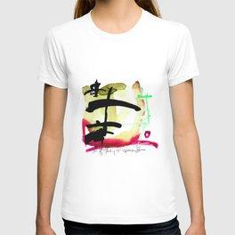 Tao Of Healing No. 29G by Kathy Morton Stanion T-shirt