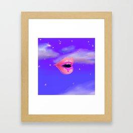 Gape Framed Art Print