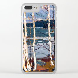Tom Thomson - Spring in Algonquin Park - Canada, Canadian Oil Painting - Group of Seven Clear iPhone Case