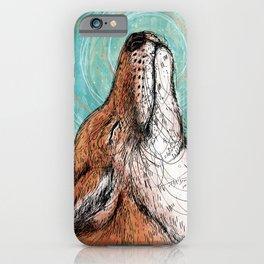 The Happiest Fox iPhone Case