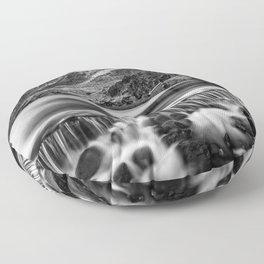 Ogwen Weir Snowdonia Floor Pillow