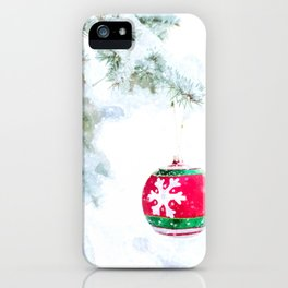 Christmas Ornament iPhone Case