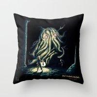 berserk Throw Pillows featuring Dark by TheMagicWarrior