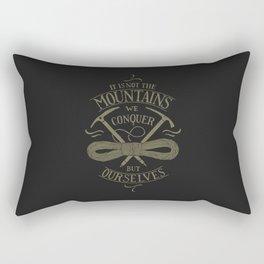 Hiking motivational quote Rectangular Pillow