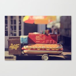 New Orleans Lucky Dogs Canvas Print