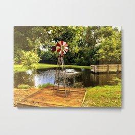 Farm Abstract Metal Print