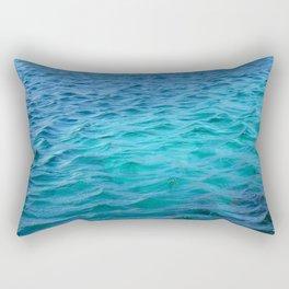 light blue Rectangular Pillow